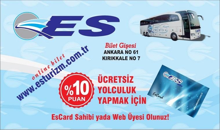 ES Turizm - Otobüs Bileti